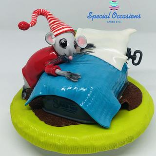 International Children's Book Day Collaboration - Santa Mouse - Cake by Special Occasions - Cakes, Etc