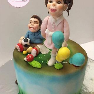 Eid Cake🎈🎈🎊♥️🎉 - Cake by Hend Taha-HODZI CAKES