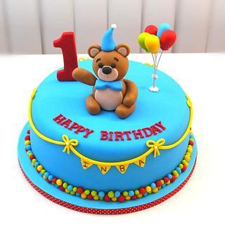 1st Birthday Theme Cake - Cake by Shilpa Kerkar