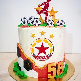 Soccer cake - Cake by TortIva