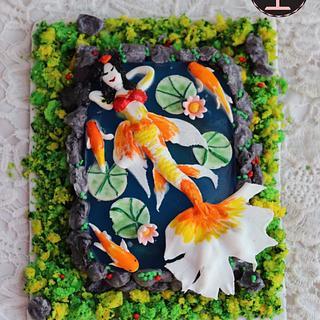 Marmaid cake