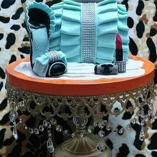 Bag and shose - Cake by Naglaaelnahawy