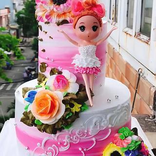 Barbie Doll Cake - Cake by CakeArtVN