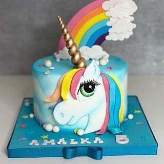 Unicorn cake  - Cake by Silvia Gundová
