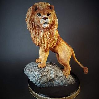 Aslan from The Chronicles of Narnia. - Cake by Claudia Kapers Capri Cakes