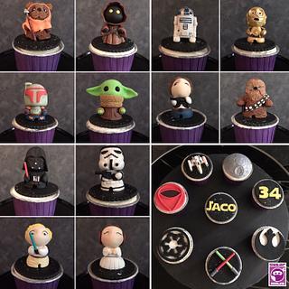 Star Wars Cupcakes - Cake by SugarNinja