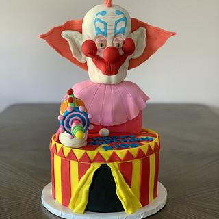 Killer Klowns From Outer Space Cake - Cake by Brandy-The Icing & The Cake
