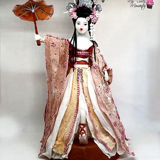 GEISHA , Colaboracion Japon - Cake by Cholys Guillen Requena