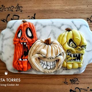 Watch out for 2020 pumpkins.... - Cake by The Cookie Lab  by Marta Torres