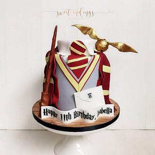 Harry Potter - Cake by Lulu Goh