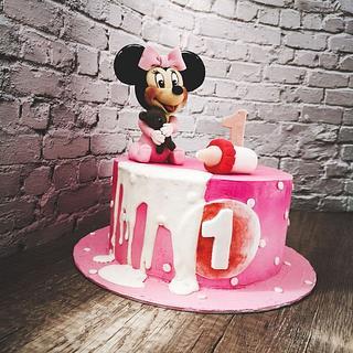 Gateau Minnie Mouse