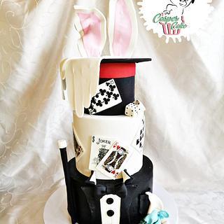 Magicians cake