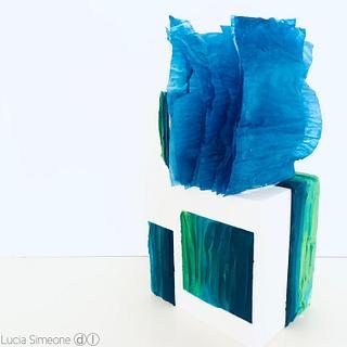Blue  - Cake by Lucia Simeone