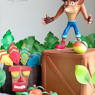 Crash Bandoccot Cake - Cake by Natalia Casaballe