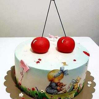 Baby girl  - Cake by Kraljica
