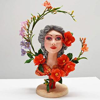 Art Nouveau Meets Sugar Artist Collaboration