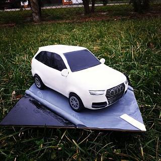 Audi Q7 2019 3D cake