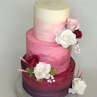 Wedding cake - Cake by Jitkap