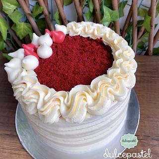 Red Velvet Cake Medellin - Cake by Dulcepastel.com