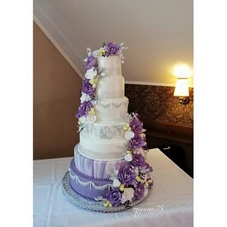 Big wedding cake - Cake by majana75