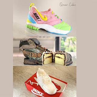 3 עוגות נעליים