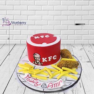 KFC cake - Cake by Emy99omar