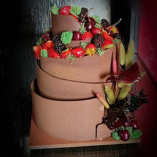 Birthday Mouse Cake for men - Cake by Viktory