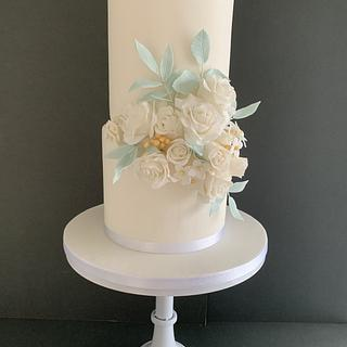 Sugar flowers - Cake by Penny Sue