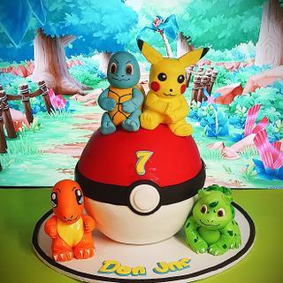 Pokomon cake