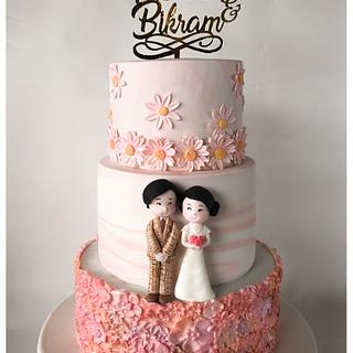 Customised Wedding Cake