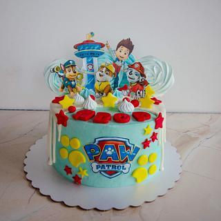 Paw patrol cake - Cake by TortIva