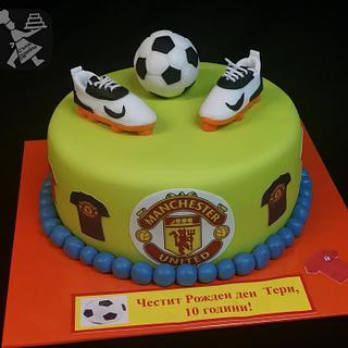 Football cake  - Cake by Sunny Dream