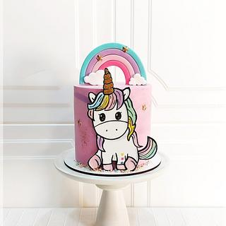 Unicorn cake - Cake by Piu Dolce de Antonela Russo