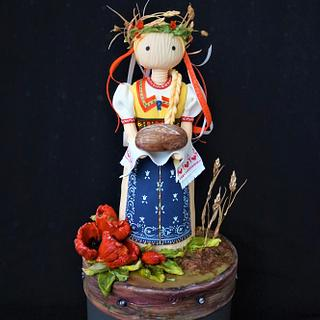 Countryside-the collaboration - Cake by Torty Zeiko