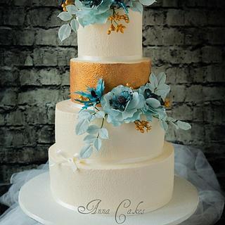 Wedding cake  - Cake by AnnaCakes
