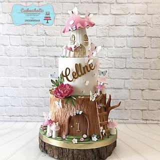 Fairy cake - Cake by Cakeaholic22