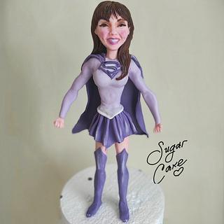 Super woman - Cake by Tanya Shengarova
