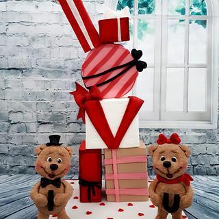 I love you cake - Cake by Creme & Fondant