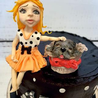 Maria wants a dog :) - Cake by SojkineTorty