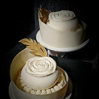 """Honey Cake """"Winter Rose"""" - Cake by Viktory"""