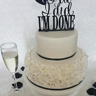 Divorce/celebration cake