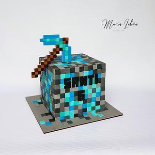 Minecraft - Cake by Maira Liboa
