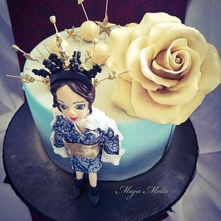 Model - Cake by Maja Motti