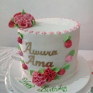 Roses - Cake by Tasha