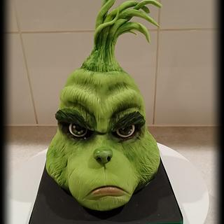 Grinch Carved Cake - Cake by Mother and Me Creative Cakes
