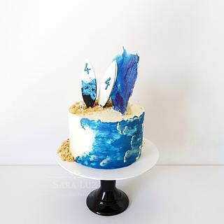Surf Cake - Cake by Sara Luz