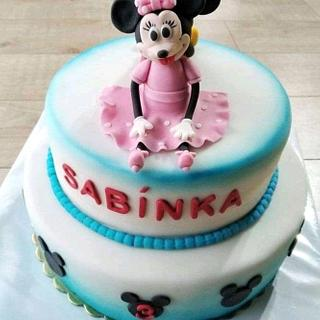 "Double- sided cake ""Mickey"""