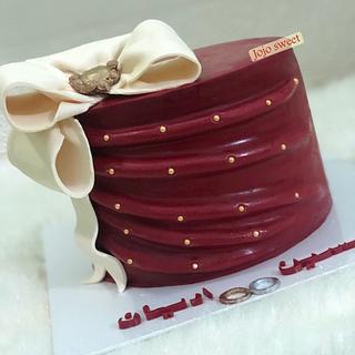 Engagement 💍 cake