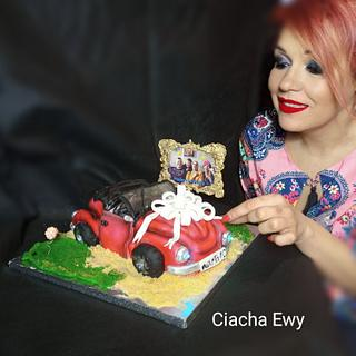 3d Cabriolet Cake - Cake by Ewa