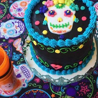 Catrina cake - Cake by Carola Gutierrez